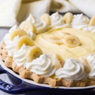 Home Made Banana Cream Pie