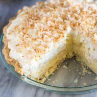 Home Made Coconut Cream Pie