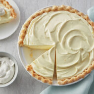 Home Made Lemon Cream Pie