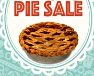 A Pie For Your Guy - Father's Day Pie Sale